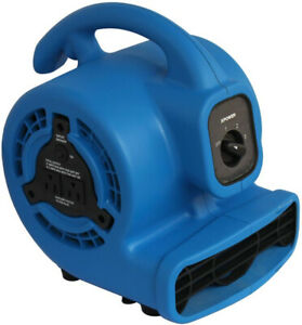 3 speed Multi purpose Mini Mighty Air Mover Utility Blower Fan W Power Outlets