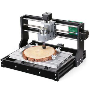 Cnc3018 Diy Router Kit 2 in 1 Engraving Machine 3 W Er11 Collet J9c7