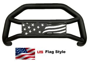Us Flag Logo Bull Bar Max Protection On Front Bumper Fit Toyota Tacoma 2005 2021