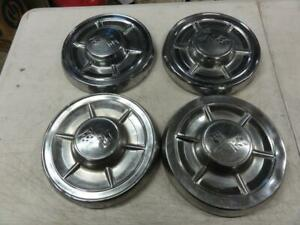 Vintage 1960s Chevrolet Impala Corvette Dog Dish Hubcap Big Brake 10 5 60 61 62