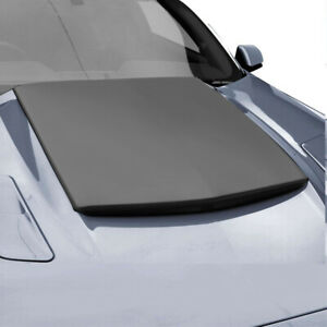 Fits 15 17 Ford Mustang Air Design Custom Style Hood Scoop Satin Black Fo22a01