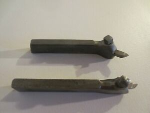 J h Williams Armstrong Lathe Tool Holders 2 Pc Set