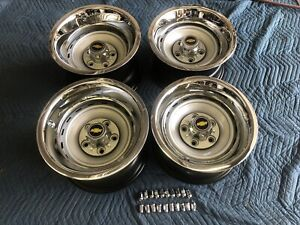 1971 87 Chevy Gmc Truck 5 On 5 15x10s 15x8s Gm Original Truck Rallys Set