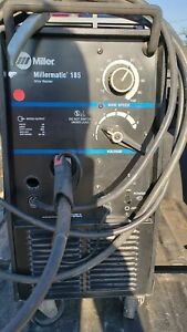 Millermatic 185 Mig Welder 220 Volts Extremely Low Use