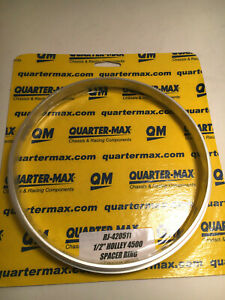 Quartermax 4500 Spacer Ring 1 2 For Air Cleaner Base Carb Holley Dominator New