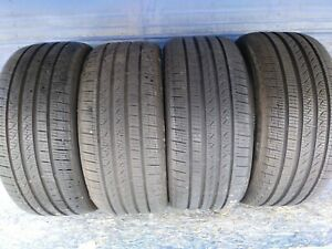 4 Pirelli Cinturato P7 A s Rft 245 40 18 Audi With 9 9 5 32nd Tread Left 97 H