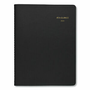At a glance Two person Group Daily Appointment Book 10 7 8 X 8 Black 2020