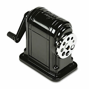 X acto Ranger 55 Classroom Manual Pencil Sharpener Black 1001
