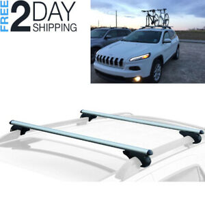 Lockable Roof Top Cargo Rack Cross Bars Jeep Cherokee Subaru Forester Crosstrek