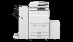 Canon 6575 I Black And White Digital Copier Printer With Stapling Finisher