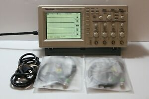 Tektronix Tds 224 100mhz 1gs s Four Channel Digital Oscilloscope Dso 4x Probes