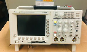 Tektronix Tds 3012 Two Channel Color Digital Oscilloscope Phosphor 100mhz 1 25