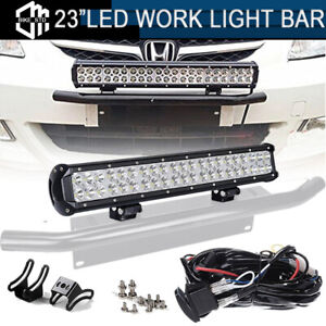 24 Inch Led Work Light Bar Off Road For Suv 4wd Atv Ute Truck Jeep Ford Boat 23