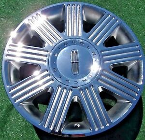 Chrome Lincoln Town Car Wheels Caps Set 4 New Towncar Oem Factory Style 17 Inch
