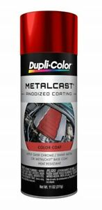 Vht Sp450 Paint Gloss Red Anodized Metalcast Spray Can High Heatdupli Color