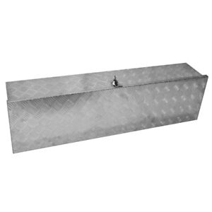 49 aluminum Tool Box Tote Storage For Truck Pickup Bed Trailer Tongue W lock