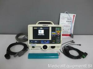 Physio control Lifepak 20 Biphasic 3 Lead Ecg Pacing Analyze