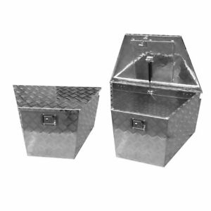 33 Truck Under Body Aluminum Tool Box Trailer Pickup Storage Boxes With Lock