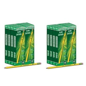 Dixon Ticonderoga Wood cased 2 Hb Pencils Sixteen 12 count Boxes Total 192 P