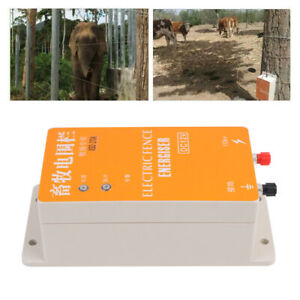 Electric Fence Charger Ranch Animal Raccoon Dog Sheep Horse Cattle Poultry