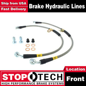 Stoptech Front Stainless Steel Brake Lines For Chevrolet Silverado 1500 2007