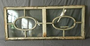 Vintage Window Sash Ovals Optical Store Front Entryway Transom 23x54 Old 144 19e