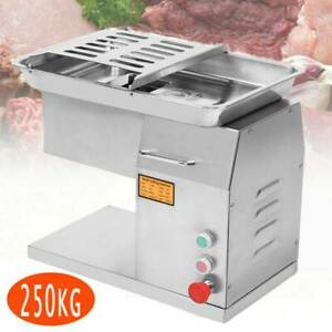 Electric Commercial 250kg Meat Cutting Cutter Machine Slicer Dicer Blade