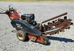 Ditch Witch 1030 Walk Behind Trencher Machine Honda Engine Trench Digger Tool
