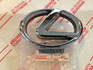 New Lexus Rx300 Chrome Grill Emblem Grille Oem 2001 2003 Badge Radiator