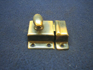 Antique Aestetic Eastlake Copper Flash Cupboard Cabinet Turn Latch Nos