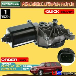 Windshield Wiper Motor For Chevy Silverado Gmc Sierra Cadillac Escalade 40 1027