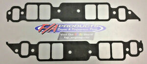 Fel Pro 1275 Big Block Chevy With Rectangle Port Intake Manifold Gasket Pair