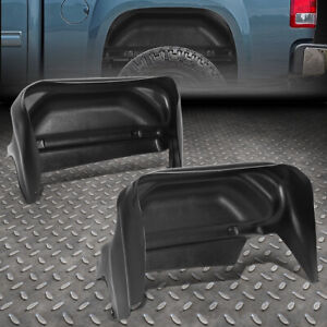 For 14 19 Chevy Silverado Pair Rear Fender Liner Wheel Well Guard Inner Mud Flap