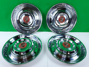 Set Of 4 1954 1955 Cadillac 15 Hubcaps