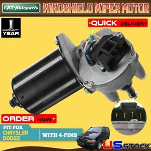 Windshield Wiper Motor Front For Chrysler Town Country Dodge Ram 1500 Plymouth