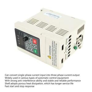 110v 0 4kw 5a Single Phase Input 3ph Output Vfd Inverter V f Closed Loop Contro