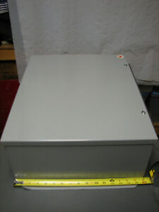 20 X 16 X 7 Steel Electrical Enclosure Box W Panel Stelpro