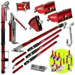 Complete Drywall Taping Finishing Set 7 10 Mega Boxes And Auto Taper Level 5