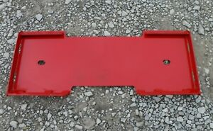 Mahindra Tractor Quick Tach Skid Steer Attachment Blank Weld Plate Free Ship