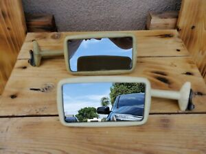 Vintage Rare Door Edge Mount Side Mirror 1930 s 1940 s Gm Chevy Ford Mopar