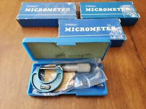 Fowler 0 To 1 Range 0 001 Graduation Outside Micrometer 52 240 001 Japan