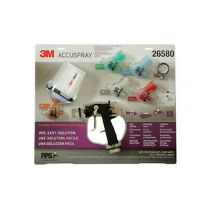 Accuspray One Spray Gun System With Pps Series 2 0 Spray Cup System 3m 26580