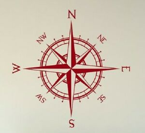 Compass Nesw Vinyl Decal sticker For Jeep Car Truck Bumper Wall Window Decor