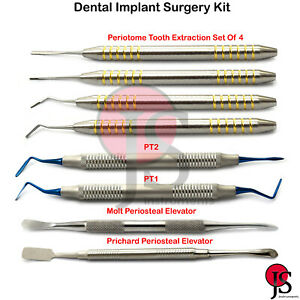 Implant Periosteal Elevator Molt Tooth Root Extraction Periotome Periodontal