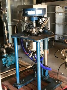 1 2 Gallon 2 Liter Pilot Plant Reactor Stainless Rated 200 Psi full Vacuum