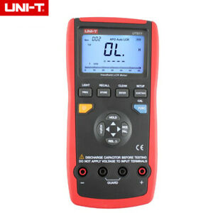 Uni t Ut611 Lcr Meters Inductance Capacitance Resistance Phase Angle Multimeters