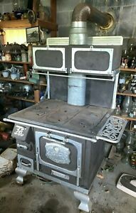 Antique The Great Majestic Stove 36438 West Virginia Coal Wood