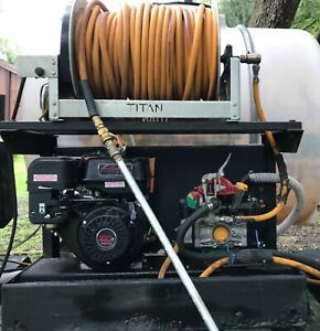 Skid Sprayer Commercial Skid Mounted 9 5 Gpm 580 Psi 500 100 Gal Taks