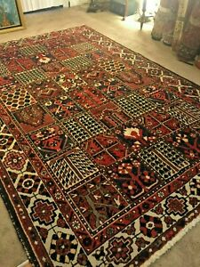 Authentic Large Wool Hand Knotted Handmade Rug Carpet Runner