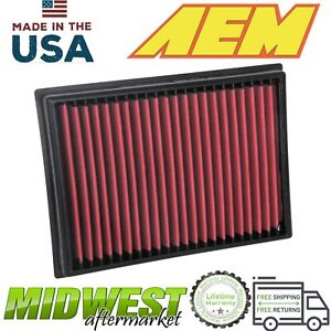 Aem Dryflow Washable Synthetic Air Filter Fits 2010 2019 Toyota 4runner 4 0l